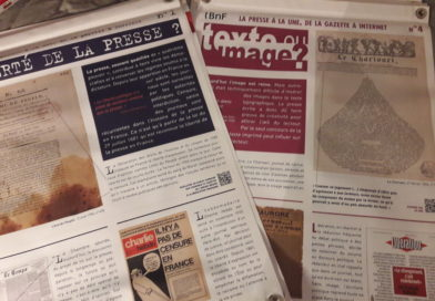 Expo BNF « De la Gazette de Théophraste Renaudot à l'ère d'Internet ». prêt 2020/2021