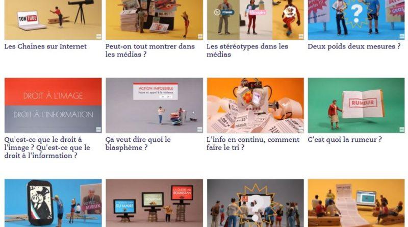 Ressources vidéos pour découvrir le fonctionnement des médias