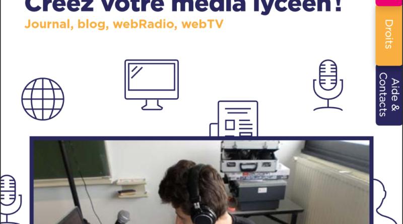 Créez votre média lycéen : la nouvelle brochure du CLEMI national