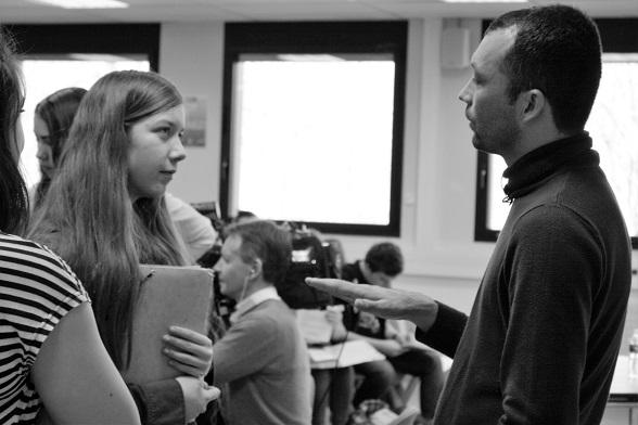 Barham à la rencontre des élèves