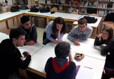 «Nuit de l'AFP» au lycée de Chevigny Saint sauveur