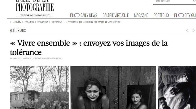 «Tolérance» des photos pour la défendre !