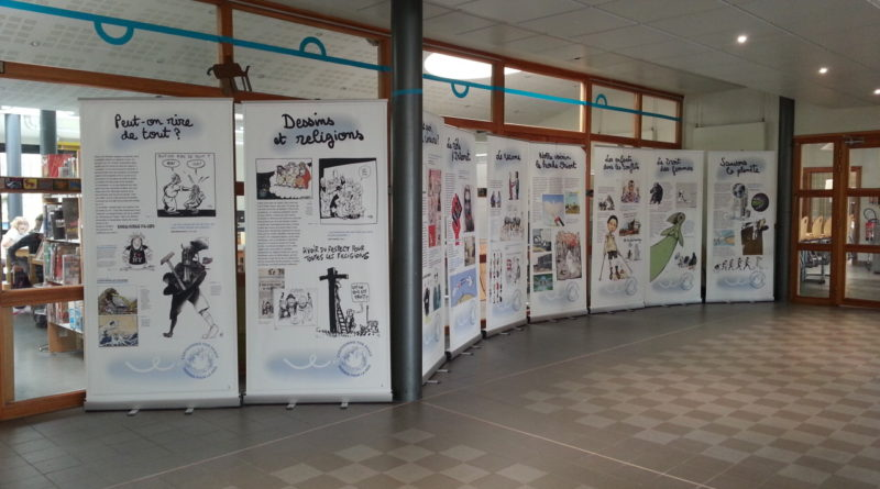 Expo Cartooning for peace : itinérance 2018-2019