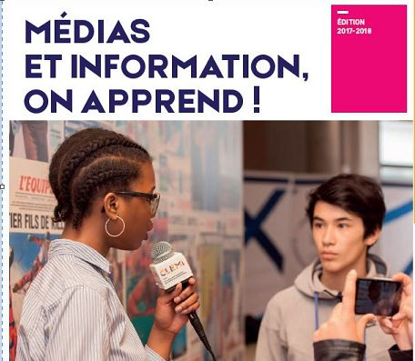 Médias et Information : on apprend – La brochure 2017-2018 est en ligne !