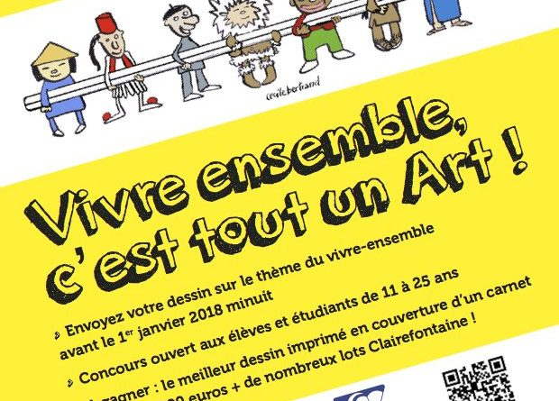 Grand concours de dessins de presse – Cartooning for peace-Clairefontaine