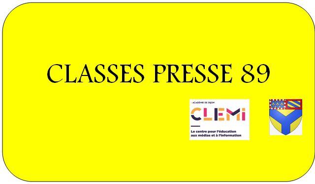 Classes Presse 89-Saison 1
