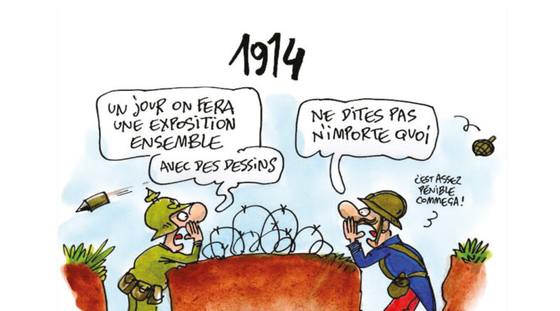 Expo Cartooning for peace « Dessine-moi la guerre