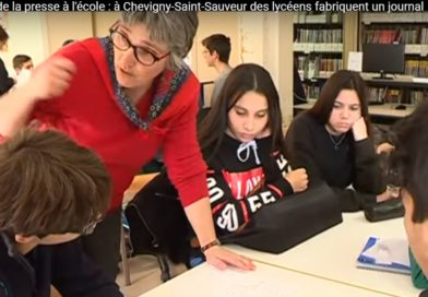 Education aux médias : une équipe et des élèves très dynamiques au lycée de Chevigny St sauveur
