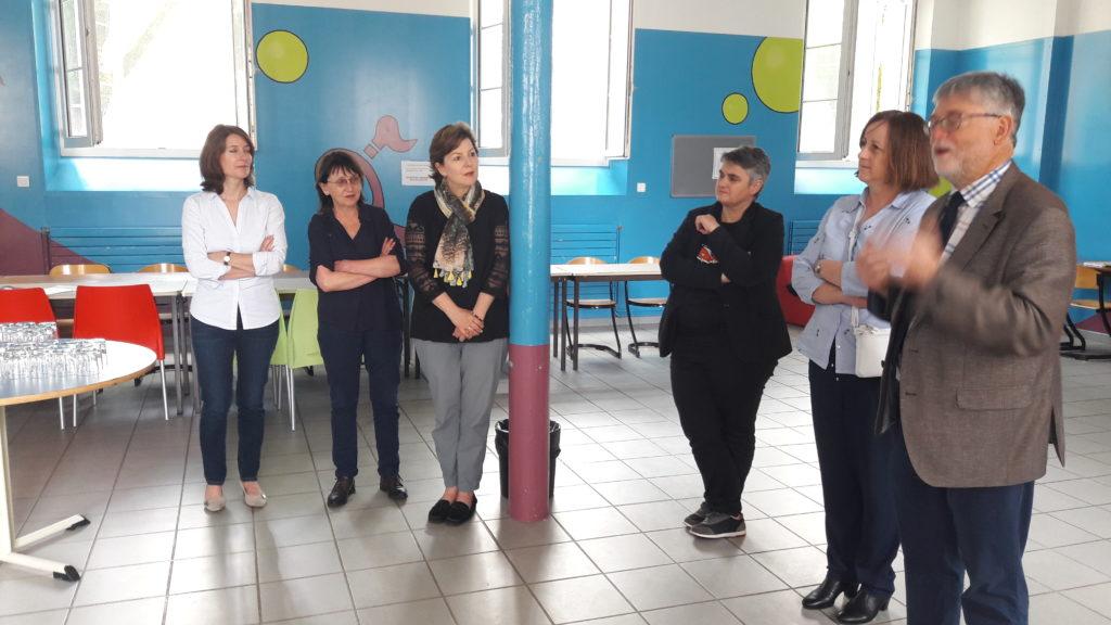 Les lycéens UPE2A d'Hippolyte Fontaine félicités par l'équipe de direction et les enseignants