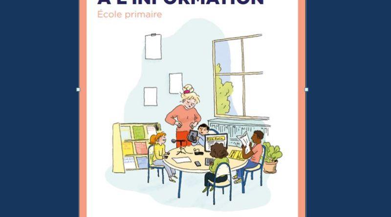 «Éduquer aux médias et à l'information» : la brochure 1er degré est parue !