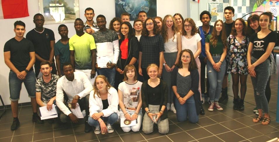 Les lycéens d'Hilaire de Chardonnet récompensés