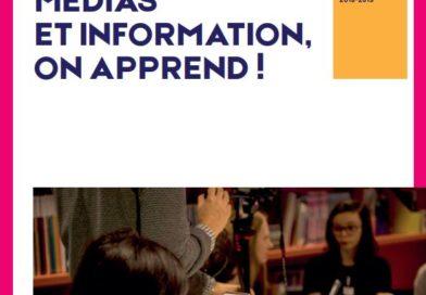 Brochure 2018-2019 «Médias et Informations, on apprend !» – en ligne