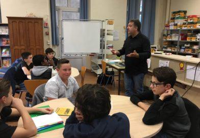 Classes presse au collège Mallarmé de Sens : une belle expérience !