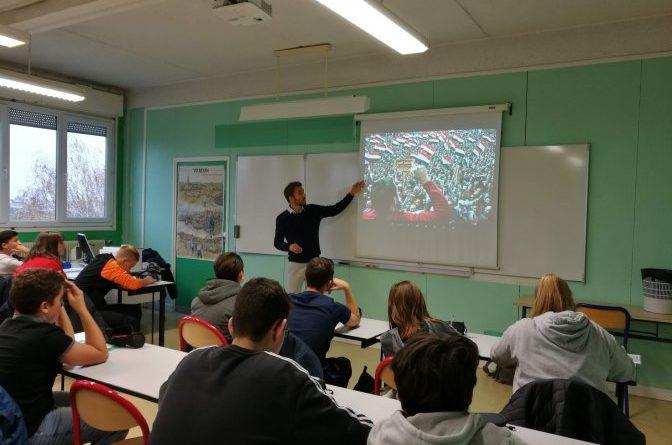 Une fenêtre sur le monde : rencontre avec Arnaud Finsitre au collège Condorcet !