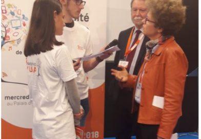 Webradio-UNA : 15 élèves de la grande académie ont couvert l'UNA 2018