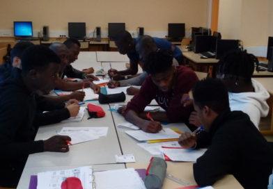 Les élèves de L'UPE2A du Lycée Fourier, apprentis journalistes