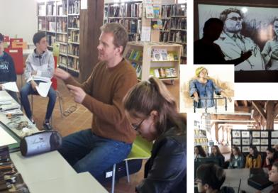 Rencontre avec Siegfried Mahé au Lycée Prieur de la Côte d'Or
