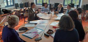 Formation des équipes à Auxerre avec M Morales de l'YR