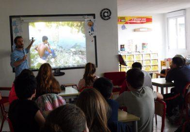 «Classes Presse 71» : De belles rencontres au collège de Génelard !