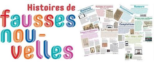 Expo BNF « Histoire des fausses nouvelles» prêt 2020/2021