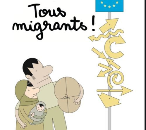 «Tous Migrants» : Exposition Cartooning for Peace – prêt 2021/2022