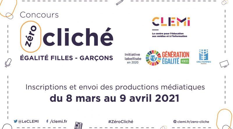 Concours «Zéro cliché» pour l'égalité filles/garçons